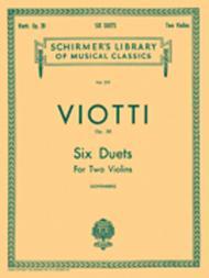 6 Duets, Op. 20