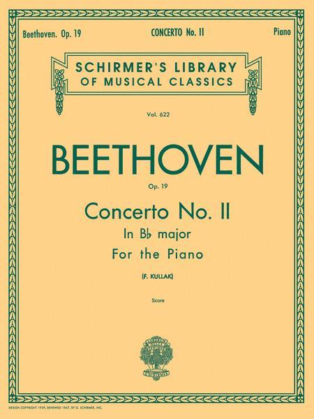 Concerto No. 2 in Bb, Op. 19
