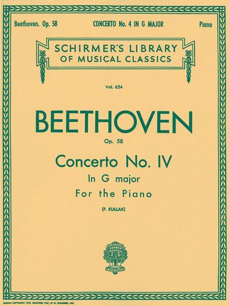Concerto No. 4 in G, Op. 58