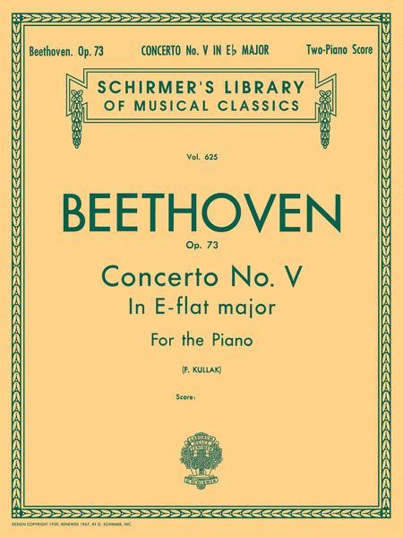 Concerto No. 5 in Eb (Emperor), Op. 73 (2-piano score)