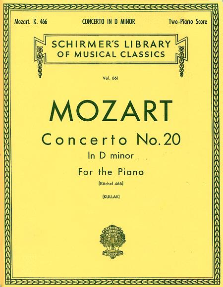 Piano Concerto No. 20 In D Minor, K. 466