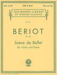 Scene de Ballet, Op. 100