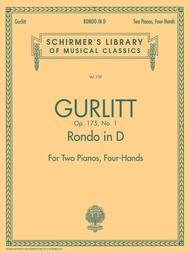 Rondo in D, Op. 175, No. 1 (set)
