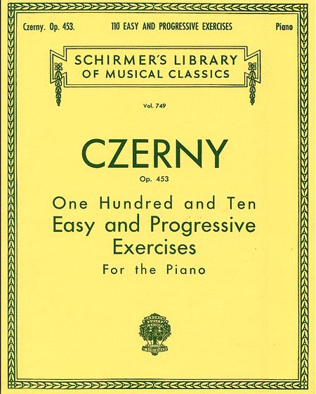 110 Easy And Progressive Exercises, Op. 453
