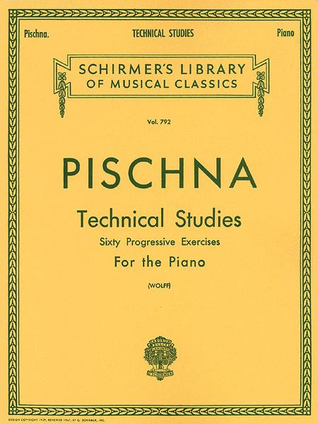 Pischna - Technical Studies (60 Progressive Exercises)