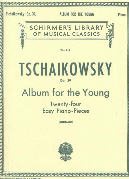 Album For The Young - 24 Easy Pieces, Op. 39