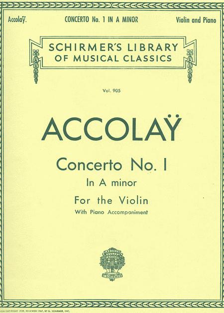 Concerto No. 1 In A Minor