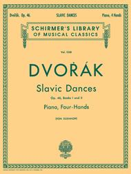 Slavonic Dances, Op. 46 - Books I and II (Piano Duet)
