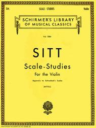 Scale Studies for Violin, Appendix to Schradieck Scales