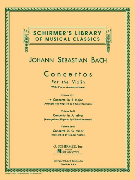 Concerto In E Major