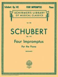 4 Impromptus, Op. 142