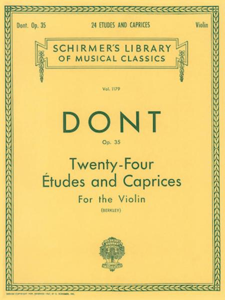 24 Etudes and Caprices, Op. 35
