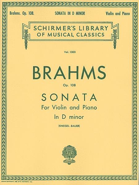 Sonata in D Minor, Op. 108