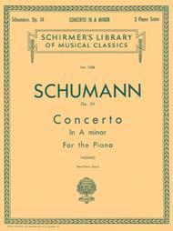 Concerto In A Minor, Op. 54 - Piano Duet