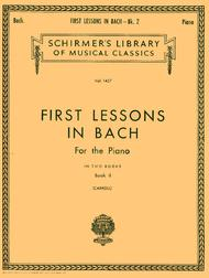 First Lessons In Bach - Book 2