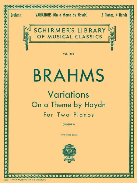 Variations on a Theme by Haydn, Op. 56b