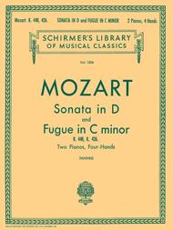 Sonata in D and Fugue in C Minor
