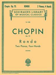 Rondo, Op. 73 (2-piano score)