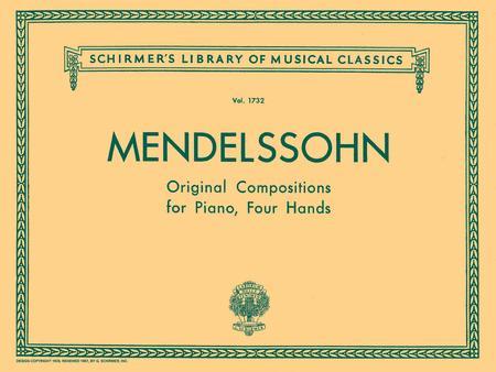 Original Compositions for Piano, 4 Hands