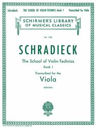 School of Violin Technics, Op. 1 - Book 1