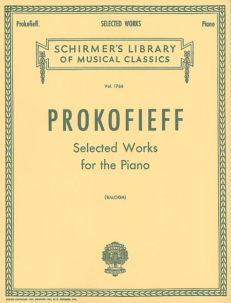 Selected Works for the Piano