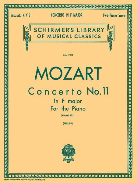 Concerto No. 11 in F, K.413