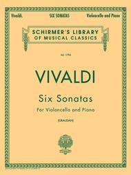 6 Sonatas For Cello And Piano