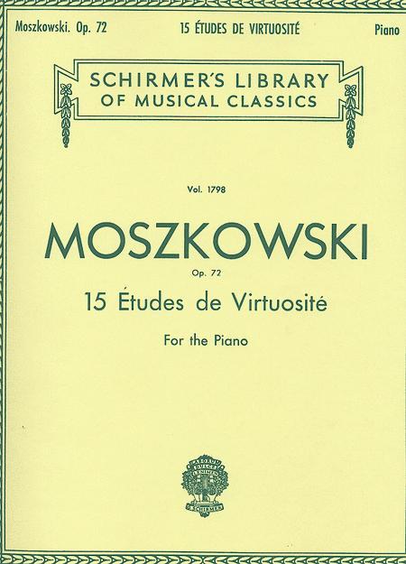 15 Etudes De Virtuosite, Op. 72