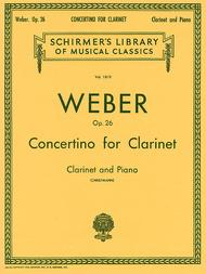 Concertino for Clarinet, Op. 26