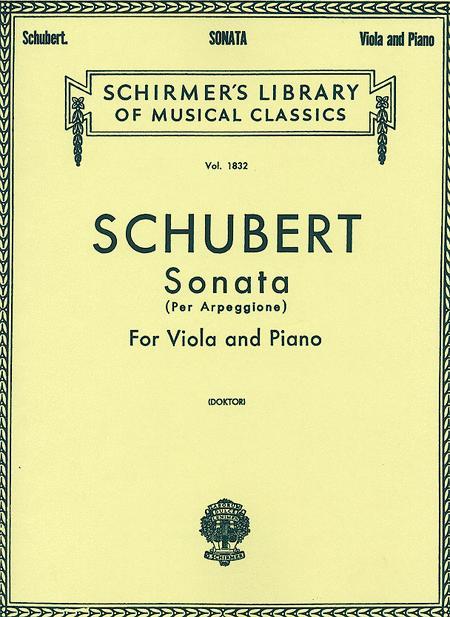 Sonata per Arpeggione (Viola/Piano)