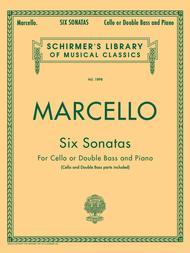 Six Sonatas - Cello or Double Bass and Piano