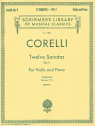 Twelve Sonatas, Op. 5 - Volume 2