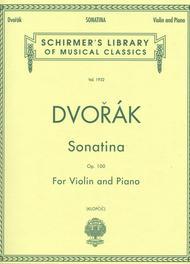 Sonatina, Op. 100 - Piano / Violin
