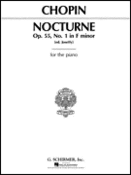 Nocturne, Op. 55, No. 1 in F Minor
