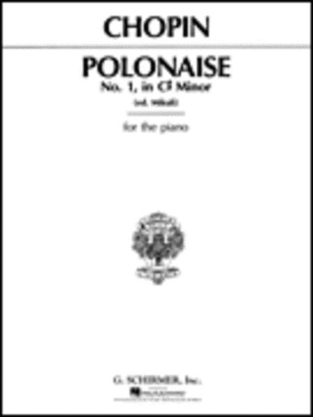 Polonaise, Op. 26, No.1 in C# Minor