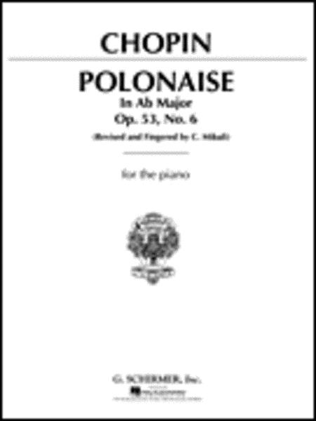 Polonaise, Op. 53 in Ab Major