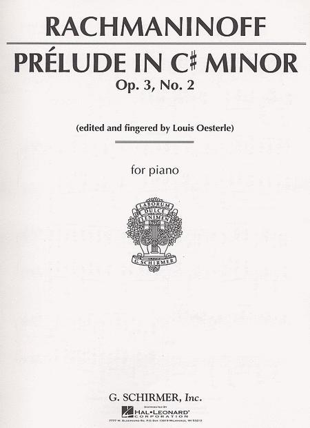 Prelude In C# Minor, Op. 3, No. 2
