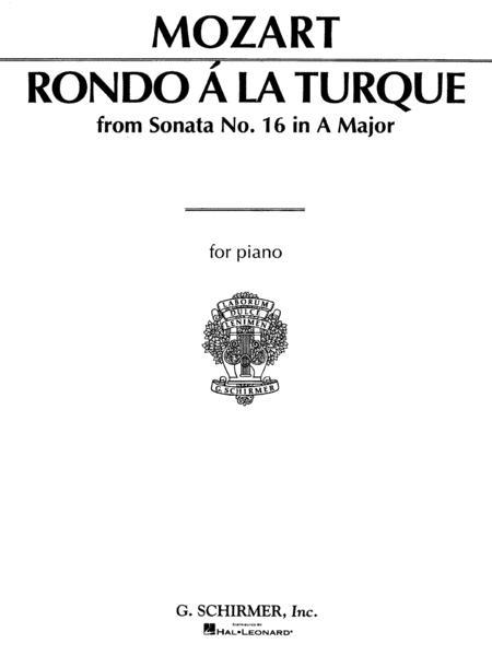 Rondo a la Turque (from Sonata in A Major K331)