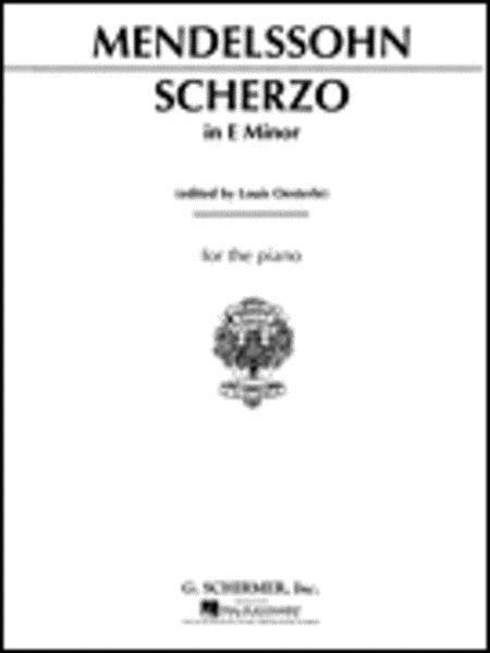 Scherzo in E Minor, Op. 16, No. 2