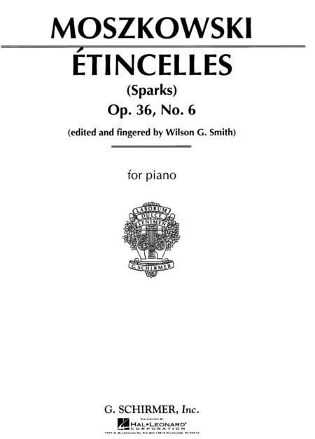 Etincelles, Op. 36, No. 6 - 'Sparks'
