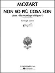 Non so piu cosa son (from Le Nozze di Figaro)