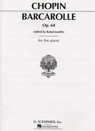 Barcarolle, Op. 60 In F# Major