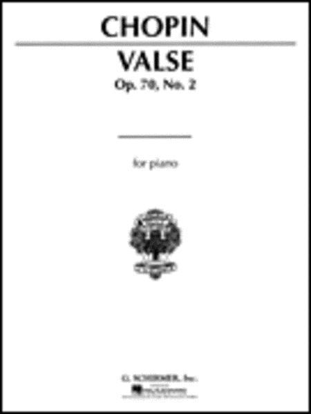 Waltz, Op. 70, No. 2 in F Minor