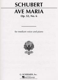 Ave Maria Op. 52, No. 6