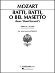 Batti, batti (from Don Giovanni)