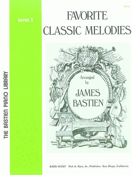 Favorite Classic Melodies, Level 3