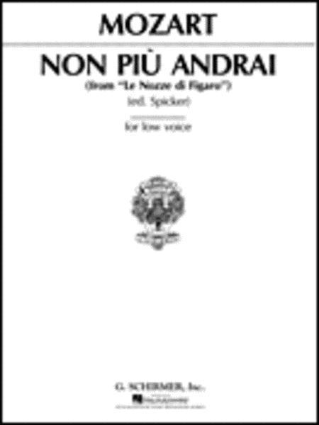 Non piu andrai (from Le Nozze di Figaro)