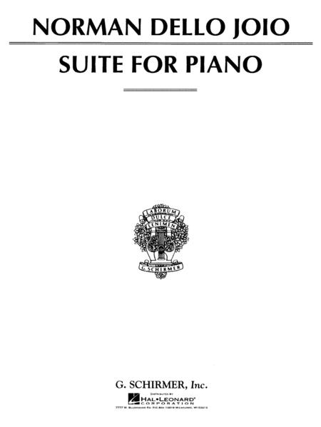 Suite for Piano