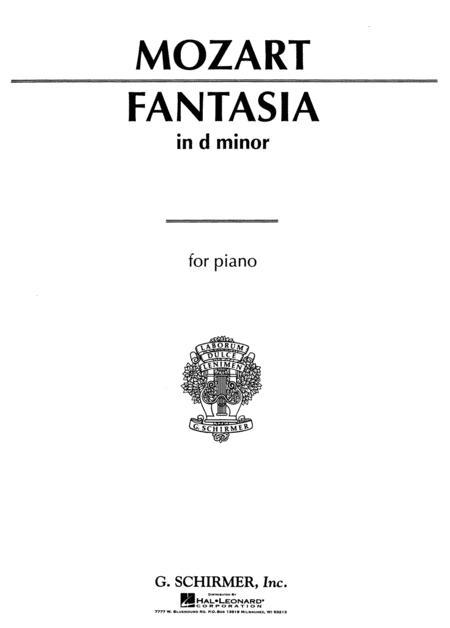 Fantasia No. 1 in D Minor K397