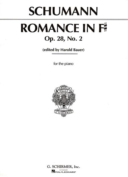 Romance, Op. 28, No. 2 In F Major